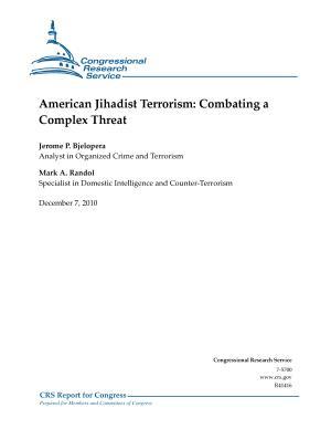 American Jihadist Terrorism  Combating a Complex Threat PDF