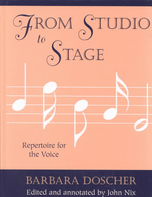 From Studio to Stage PDF