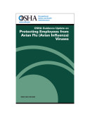 OSHA Guidance on Protecting Employees from Avian Flu (Avian Influenza) Viruses
