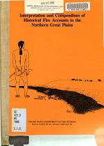 Interpretation and Compendium of Historical Fire Accounts in the Northern Great Plains