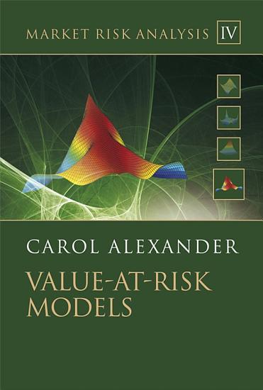 Market Risk Analysis  Value at Risk Models PDF