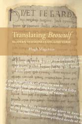 Translating Beowulf Modern Versions In English Verse Book PDF