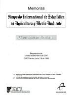 Simposio Internacional de Estadistica en Agricultura y Medio Ambiente PDF