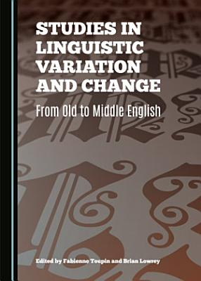 Studies in Linguistic Variation and Change PDF