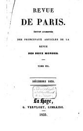 La revue de Paris: Volume 12