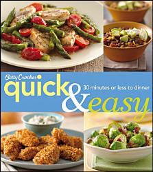 Betty Crocker Quick Easy 3e Book PDF
