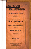 Tariff Reform and Imperialism PDF