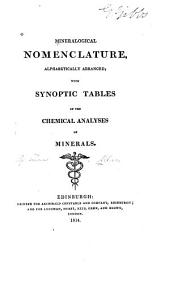 Mineralogical Nomenclature, Alphabetically Arranged
