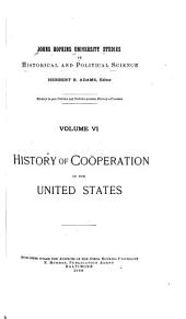 Cooperation in New England: Volume 6
