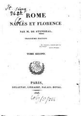 Rome, Naples et Florence: Volume2