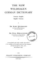 The New Wildhagen German Dictionary PDF