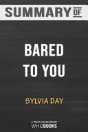 Summary of Bared to You by Sylvia Day  Trivia Quiz for Fans PDF