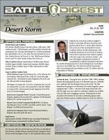 Battle Digest  Desert Storm PDF