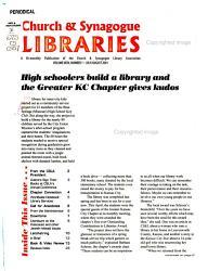 Church Synagogue Libraries Book PDF