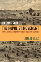 The Making of the Populist Movement PDF