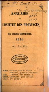 Annuaire des sociétés savantes de France et des congrès scientifiques: Volumes3à4
