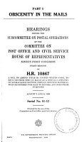 Obscenity in the Mails PDF