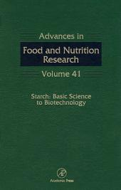 Starch: Basic Science to Biotechnology