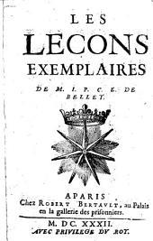 Les Lecons exemplaires