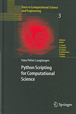 Python Scripting for Computational Science PDF