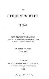 The student's wife, by mrs. Mackenzie Daniels