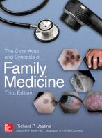 The Color Atlas and Synopsis of Family Medicine  3rd Edition PDF