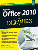 MICROSOFT OFFICE 2010 FOR DUMMIES PDF