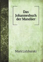 Das Johannesbuch der Mand?er