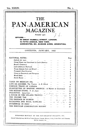 The Pan American Magazine and New World Review PDF