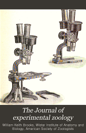 The Journal of Experimental Zoology: Volume 17