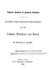 Common Minerals and Rocks
