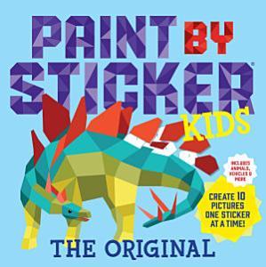 Paint by Sticker Kids Book