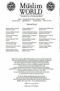 The Muslim world PDF