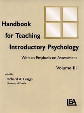 Handbook for Teaching Introductory Psychology: Volume 2