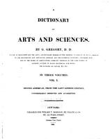 A Dictionary of Arts and Sciences PDF