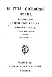 Rhetorica: Ser.2, 11-13 : M. Tull. Ciceronis Opera ; 1-3