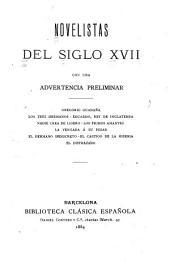 Novelistas del siglo XVII [diecisiete]: con una advertencia preliminar
