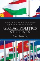 The CQ Press Career Guide for Global Politics Students PDF