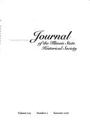 Journal of the Illinois State Historical Society PDF