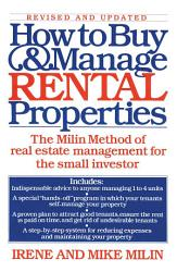 How To Buy And Manage Rental Properties Book PDF