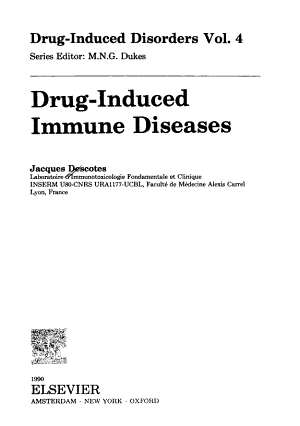 Drug induced Immune Diseases PDF
