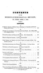 The Medico-chirurgical Review: Volume 20