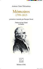 Mémoires 1799-1815: Kronos N° 68