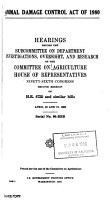 Hearings  Reports and Prints of the House Committee on Agriculture PDF