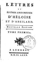 Lettres et épitres amoureuses: Volume1