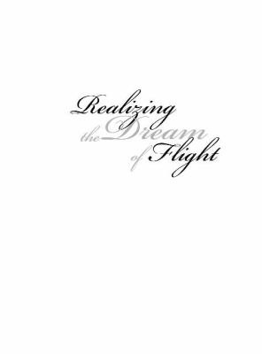 Realizing the Dream of Flight PDF