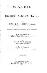 Manual of Universal Church History PDF