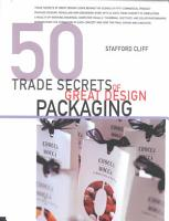 50 Trade Secrets of Great Design Packaging PDF
