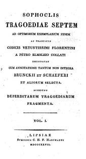 Sophoclis tragoediae septem: Τόμοι 1-8