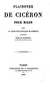 Plaidoyer de Cicerón pour Milon